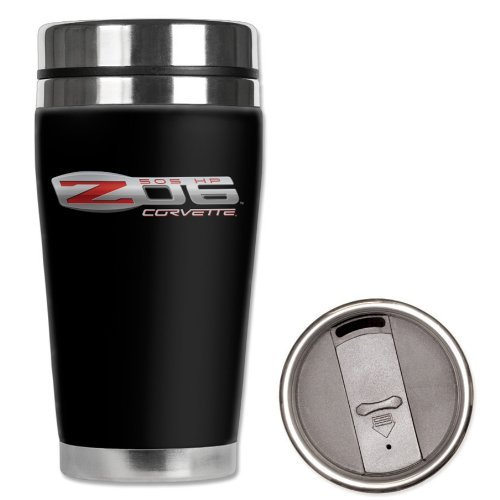 Corvette - Neoprene Wetsuit Travel Mug - C6 Z06 Logo : C6 Z06 by WCC - Corvette Z06 Logo