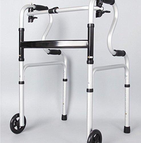 Walker cuatro patas de aluminio plegables