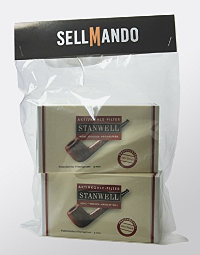 Stanwell Aktivkohle Filter 9mm - Vorratspack mit (2x 200er Box)