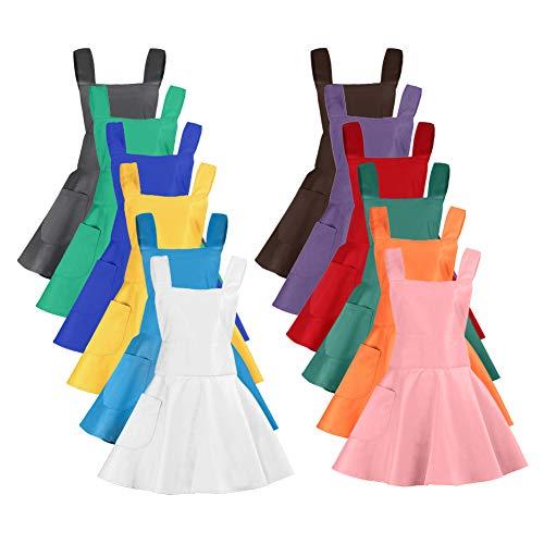 aspire Schürzen für Frauen mit Tasche, Küchenschürze, Basteln, Kochen, Gartenarbeit, Sortiert, Einheitsgröße