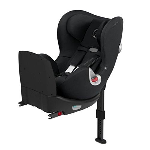 Preisvergleich Produktbild Cybex SIRONA Q I-SIZE mit Fangkörper Stardust Black schwarz Kinderautositze Gruppe 0+/1 Reboarder - Rückwärts gerichteter Kindersitz ab Geburt bis 18kg (ca. 4 Jahre) #15189