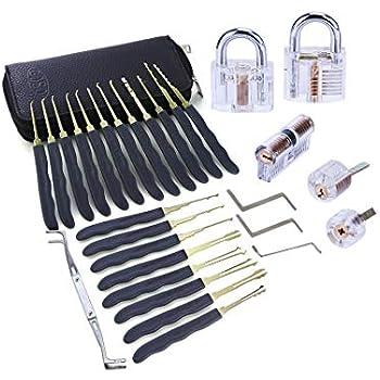 TACKLIFE LP01 Lock Pick Set, B07DHKK8BX: Amazon co uk: DIY