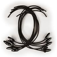 Segeleinbinder mit Qick Clip schwarz im 10er Pack