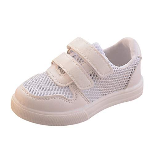 LMRYJQ-Verano Niños Niños Bebé Niñas Niños Malla Transpirable Correr Deporte Zapatos Ocasionales