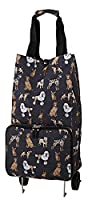 Ulster Weavers Collapsable Space Saving Shopping Trolley Bag in Dogs and Crosses Design 9DGC01