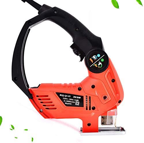 RENXR Sierra De Calar Portátil Multi-Función De Jigsaw Doble Combinado Sierra Uno Motor Completo Cobre...