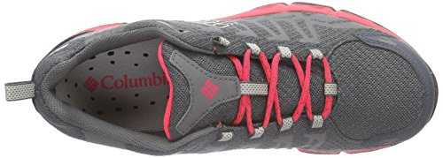 ColumbiaVENTRAILIA OUTDRY - Scarpe sportive da donna Multicolore (Multicolor (Graphite/Laser Red))