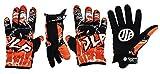 JLP RACING-Handschuhe für Motorrad, Quad, Mountainbike, BMX CR CRF RM RMZ KTM SX SXF KX KXF YZ YZF Rot Größe M A 2XL