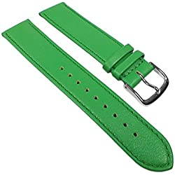 Miami Replacement Band Watch Band kalf nappa Strap green 22564S, width:13mm