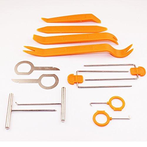 Spezialwerkzeug zum Entfernen von Autoradio und Auto-Innenverkleidung, Kunststoff, 12-teilig