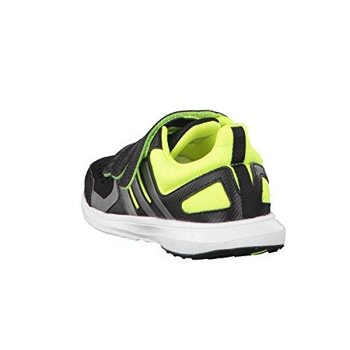 adidas , Jungen Leichtathletikschuhe  Schwarz Schwarz / Grau / Lima