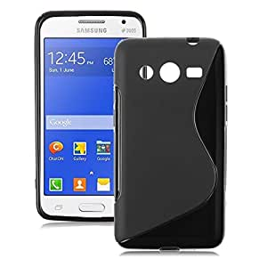OPUS S Line Silicon Luxury Back Cover FOR Samsung Galaxy Core 2 G355 + 2 OTG CABLE FREE