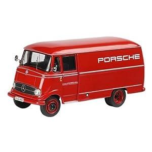 Schuco 450335200 Classic 1:43 - Mercedes-Benz L319 Porsche Caja