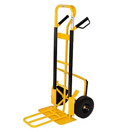 pro-bau-tec Sackkarre Extension mit PU Rädern 250 kg, 40001 (Rad Bau)