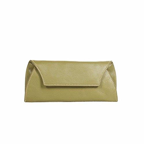 Neuen Handtasche Tasche Geldbeutel einfach große Kapazität, blau Green