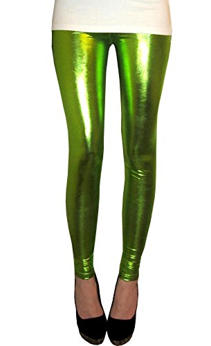 Extra long Legging Ultrashine Tall Citron Vert