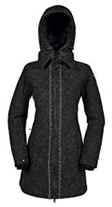 Tatonka Damen Mantel Mayfield Coat, darkest grey, 38, K300