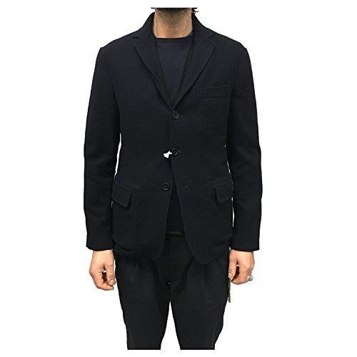 ASPESI giacca uomo blu mod TOURING 90% lana 10% cashmere (XXL-IT54-UK44-US44)