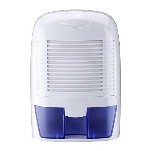 Deshumidificador OUTAD 1500 ml Portáti Mini Deshumidificadores Electrico Deshumidificador de Aire Para el Hogar Sótanos Dormitorio Oficina y Garaje Cuarto de Baño Armario etc