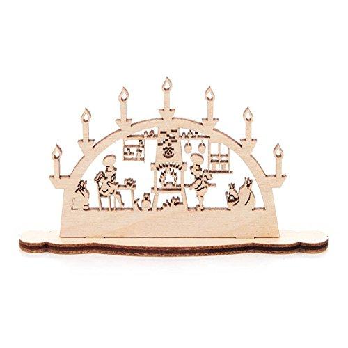Miniatur-Schwibbogen Motiv Bäckerei - Dregeno Erzgebirgische Holzkunst - Artikel 202/746/2