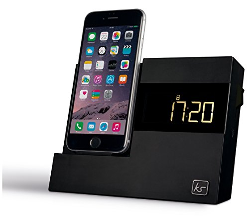 kitsound-x-dock3-lcd-display-clock-radio-dock-with-lightning-connector-black