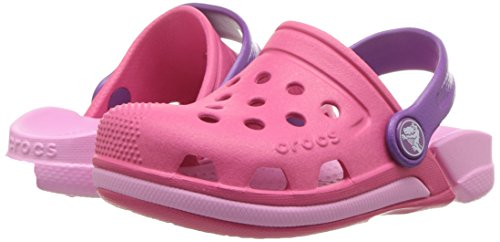 Crocs Kids' Electro Iii Clogs, Pink (Paradise Pinkcarnation), 9 Uk Child (C9 Us)