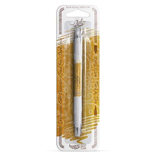 dunkel gold verzehrbar, Lebensmittel-Stift für Kuchen Dekoration -