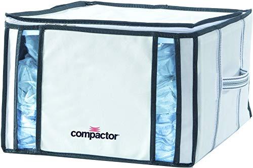 """COMPACTOR Caja de Almacenaje Al Vacío, Talla M, 125 l, Blanco \""""Life\"""", RAN3254"""