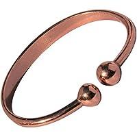 "magnetisch Drehmoment solide Kupfer Armband - 4 Handgelenk Größen - CCB -mb1 - Large - 195mm (7 3/4"") to 222mm... preisvergleich bei billige-tabletten.eu"