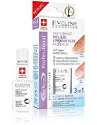 Eveline Whitening & Smoothening Professional Nail Therapy - Eliminates Discolourations, Overcomes Yellowing, Protective Base Coat