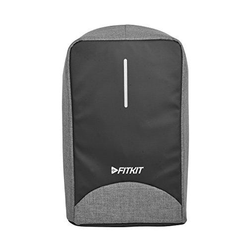 Fitkit Premium Anti-Theft Laptop Backpack(Grey/Black)
