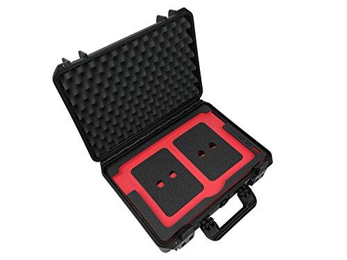 """Wasserdichter Laptop Koffer mit funktionalem Inlay für Apple MacBook 15"""", Ladegerät und viel Zubehör, bruchfester Hartschalenkoffer, IP67, Outdoor Case (MacBook 15"""")"""