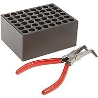 witeg Calefacción Bloque blc54848agujeros para 1.5/2.0ml respuesta gefäße, Ø11X equivalente, konischer suelo, para bloque Termostato HB de 48/de 96/R de 48