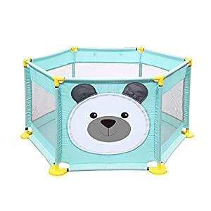 Baby Playpen Activity Centre Children Safety Fence Play Yard Game Playpen Fence for Home Indoor Outdoor Playing   1