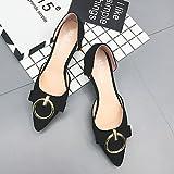 Zormey Women'S Sandals Summer Comfort Pu Outdoor Low Heel Black Us8 / Eu39 / Uk6 / Cn39