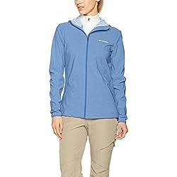 Columbia Heather Canyon Jacket Chaqueta Softshell con Capucha, Aislamiento térmico sintético Hi-Loft, Mujer, Medieval, S