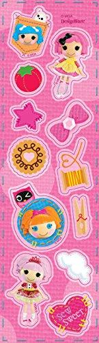 Kostüm Lalaloopsy - Amscan Lalaloopsy 8-Sticker Strips
