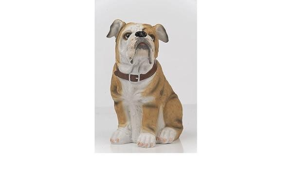 Hundefigur 22 cm Bernhardiner Dekofigur Tierfigur Deko Dog Zierfigur Polyhund