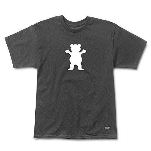 Grizzly Gradient OG Bear 2 black T-Shirt Größe L