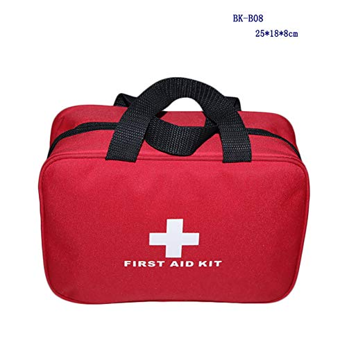 MRX First aid kit 70-piece set Portable Mini Rescue Safety protection bag Waterproof Home Office Outdoor - First Bag Safety