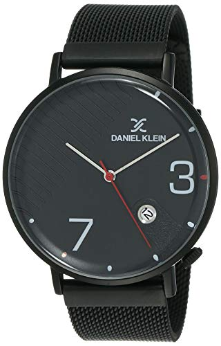 Daniel Klein Analog Black Dial Men's Watch-DK12147-6