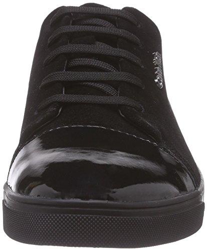 Calvin Klein Hamilton, Baskets Basses Femme Noir (Blk)