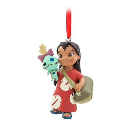 Unbekannt Lilo und Scrump, Sonnenspirale, Lilo & Stitch, Weihnachten Ornament, offizielles Disney