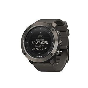 Suunto - Traverse - SS022226000 - Reloj GPS Outdoor para excursionismo y senderismo - Sumergible - Gris Grafito - Talla única