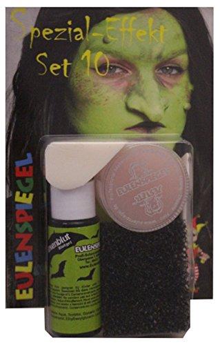 Eulenspiegel Spezial Effekt Set 10 Halloween Schminke