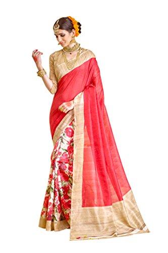 Samskruti Sarees Raw Silk Saree (Sleesa-112_Red)