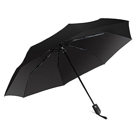 Parapluie Pliable de Voyage Parapluie Automatique Parapluie Etanche Toile de 40