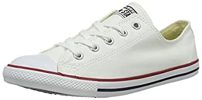 Converse CT Dainty Ox C537204 Damen Sneaker, Weiß (Blanc/Rouge), 37.5 EU
