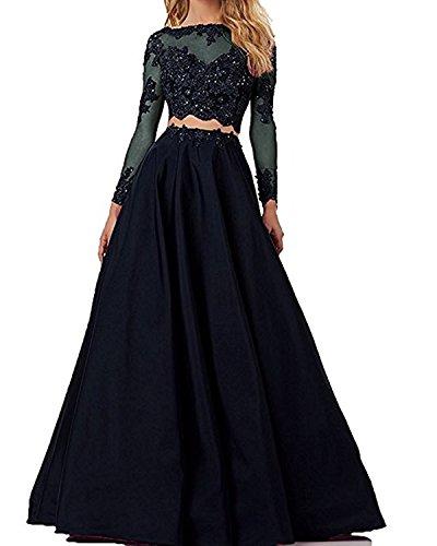 Tianshikeer Brautkleid Zweiteilig Spitze Glitzer Satin Lang Sexy Hochzeitskleid 2 Teilig Burgund 142