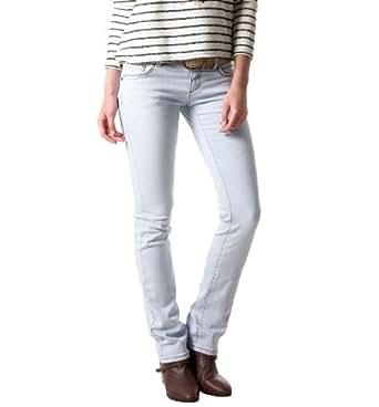 Promod Gerade Damen-Jeans Ultra-ausgewaschen 40